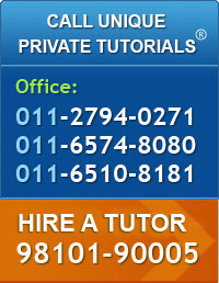 Contact us for home tutor services